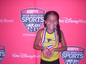 G-Force athlete  Taliyah Mizell Junior Olympic Qualifier