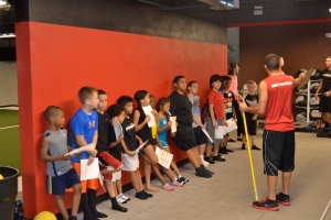 Getting ready for the Broad Jump