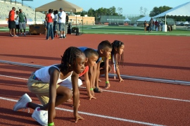 G-Force on the track @ the Junior Olympics...GO G-FORCE!!!!!