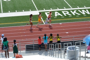 Watching the 800m @ the J.O. (2012)