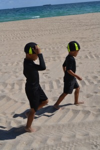 Trevion & Tovani @ Beach Workout 2/2/13