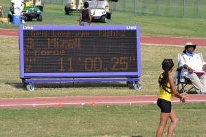 Taliyah long jump J.O. results (2012)