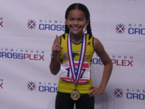 Taliyah Mizell - Record Holder in Long Jump @ AAU National Indoor Championship 2013