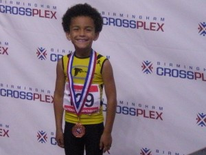 GO TRE!!!!!  Tre received his medal in Long Jump @ AAU Indoor National Championship 2013