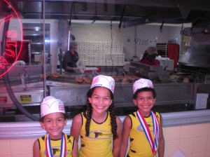 @ Krispy Kreme coming home from AAU Indoor National Championship 2013