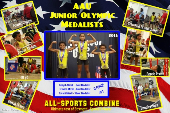 AAU JO Medalists