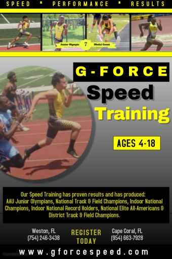 Speed Training Flyer